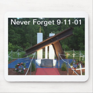 Never Forget 9 11 01 Mousepad