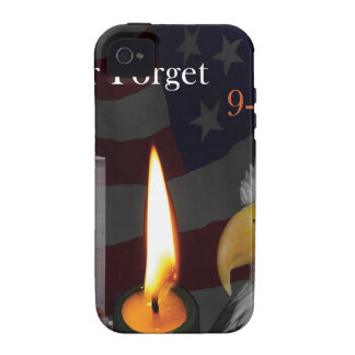 Never Forget 9-11-01 Vibe iPhone 4 Cover