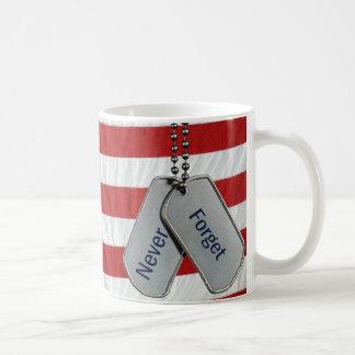 Never Forget Basic White Mug