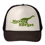 Never Forget Dinosaurs Cap