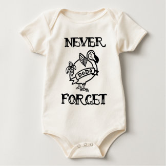 Never Forget- Dodo Baby Bodysuit