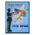 Never Forget-Ever Honour Poster