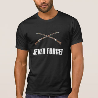 Never Forget Musket Dark T-Shirt