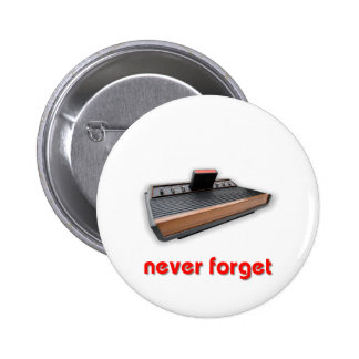 Never Forget Old School Gaming Buttons