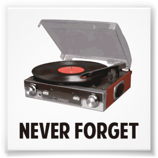 Never Forget Vinyl Record Players Photo