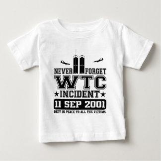 Never Forget World Trade Center 11 September 2001 Baby T-Shirt