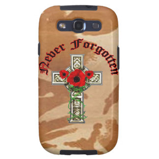 Never Forgotten Samsung Galaxy S3 Covers