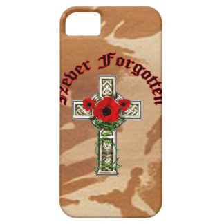 Never Forgotten iPhone 5 Cover