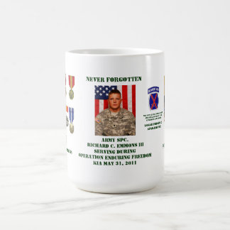 Never Forgotten Coffee Mug