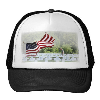Never Forgotten - Graveside Visit Trucker Hat