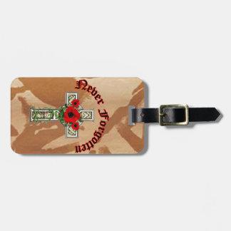 Never Forgotten Bag Tag