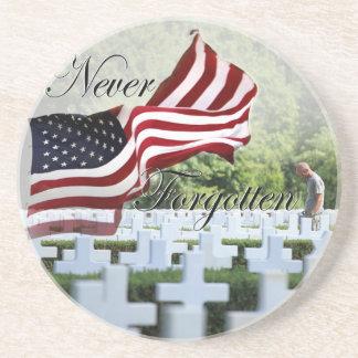 Never Forgotten - Memorial Day Coaster