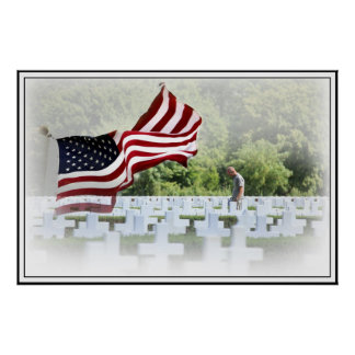 Never Forgotten - Memorial Day Poster