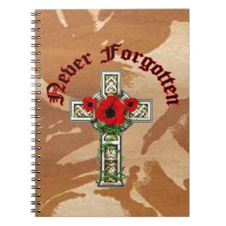 Never Forgotten Notizbücher