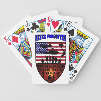 Never Forgotten Bicycle Poker Cards