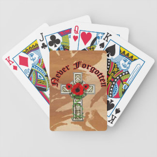 Never Forgotten Playing Cards