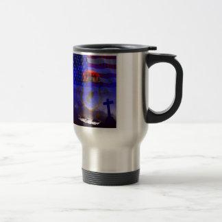 Never Forgotten POW-MIA Travel Mug