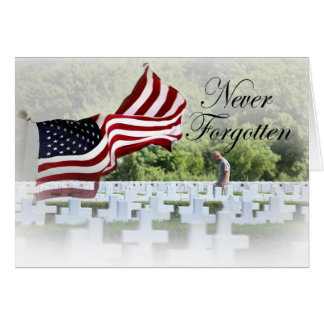 Never Forgotten - Remembrance Note Card