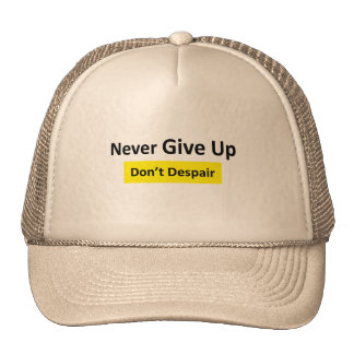 Never_Give_Up Cap