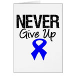 Never Give Up (Colon Cancer) Greeting Card