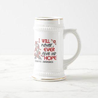 Never Give Up Hope 4 Diabetes Mug