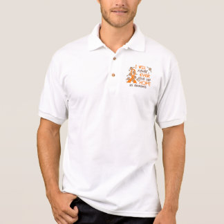 Never Give Up Hope 4 MS Polo T-shirt