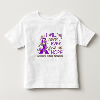 Never Give Up Hope 4 Pancreatic Cancer Tshirts