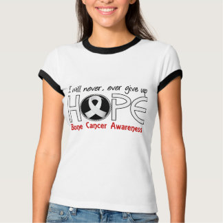 Never Give Up Hope 5 Bone Cancer Tshirts