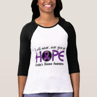 Never Give Up Hope 5 Crohn s Disease T Shirt