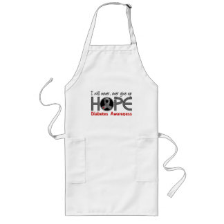 Never Give Up Hope 5 Diabetes Aprons