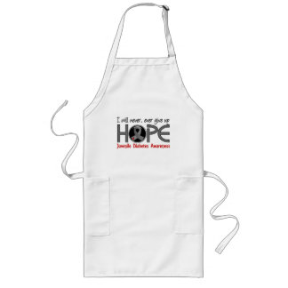 Never Give Up Hope 5 Juvenile Diabetes Aprons