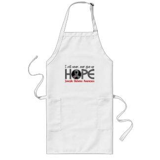 Never Give Up Hope 5 Juvenile Diabetes Long Apron