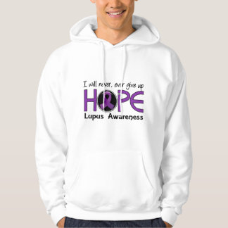 Never Give Up Hope 5 Lupus Hoodie