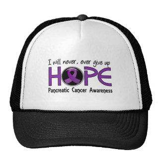 Never Give Up Hope 5 Pancreatic Cancer Trucker Hat