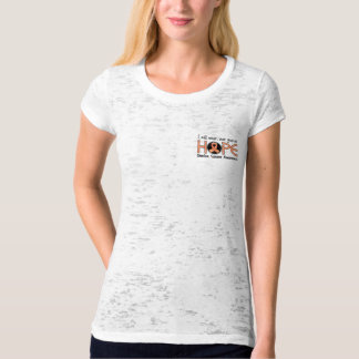 Never Give Up Hope 5 Uterine Cancer Tshirt