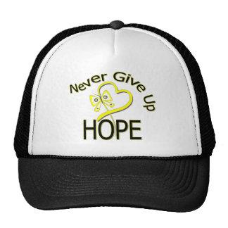 Never Give Up Hope Bladder Cancer Mesh Hats
