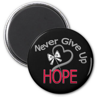 Never Give Up Hope Diabetes Magnets