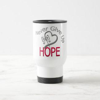 Never Give Up Hope Diabetes Coffee Mug