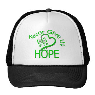 Never Give Up Hope Traumatic Brain Injury Trucker Hats