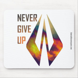 Never Give Up - Kimi Raikkonen Mouse Pad