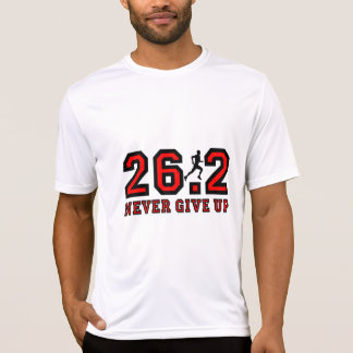 Never give up marathon T-Shirt