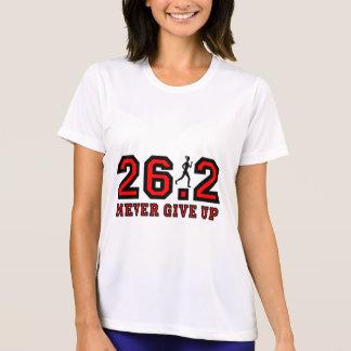 Never give up marathon T-Shirt