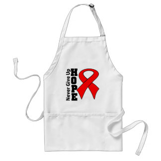 Never Give Up On Hope Vasculitis Awareness Apron