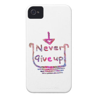 Never Giveup  -  Artistic Motivational presention Blackberry Bold Covers