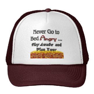 Never Go to Bed Angry Plan Revenge v1 Mesh Hat
