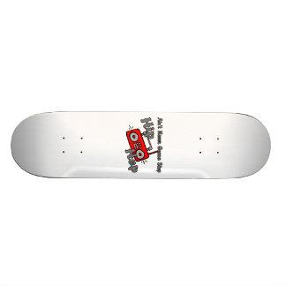 Never Gonna Stop Hip Hop Skateboard