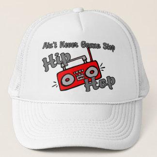 Never Gonna Stop Hip Hop Trucker Hat