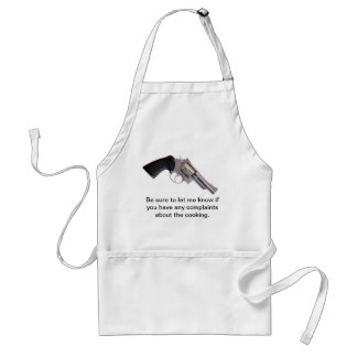 NEVER HAD A COMPLAINT APRONS