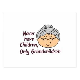 NEVER HAVE CHILDREN POST CARDS