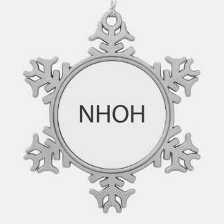 Never Heard Of Him,Her.ai Pewter Snowflake Decoration